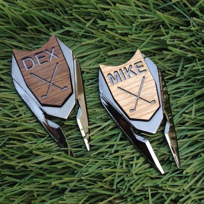 Non-Alcoholic and Useful Gifts Ideas for your Groomsmen Proposal, high end Golf Ball Marker