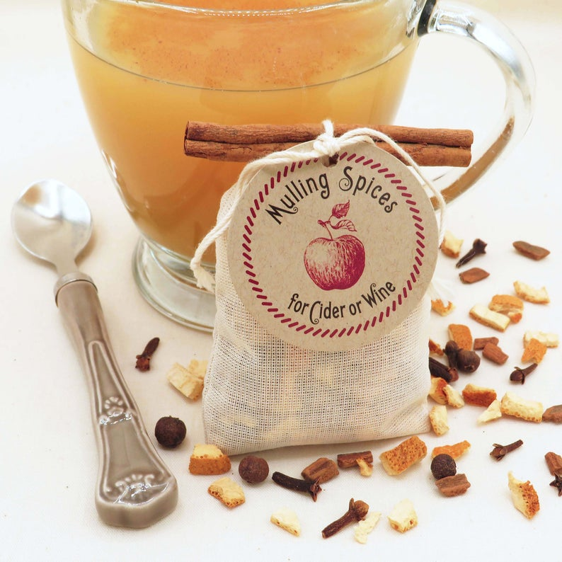 Winter Wedding Favors for Guests Mulling Spices for Cider or Wine