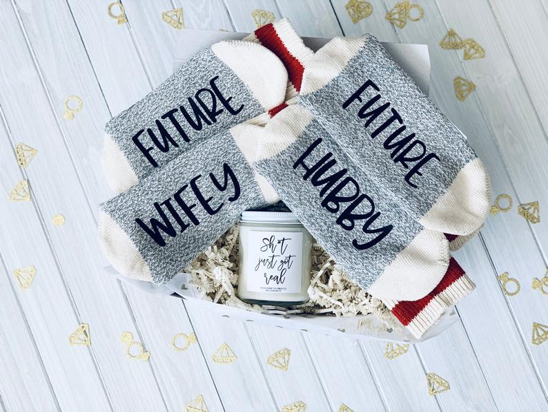 Cozy Engagement Gift for Couple for Winer