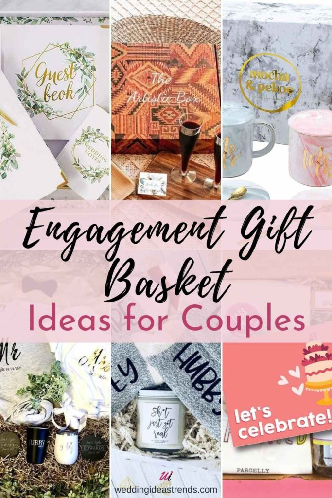 Engagement Gift Basket Ideas for Couples
