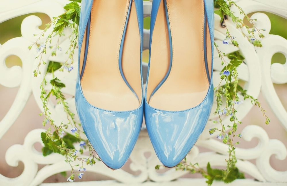 Pastel Colored Wedding Shoes