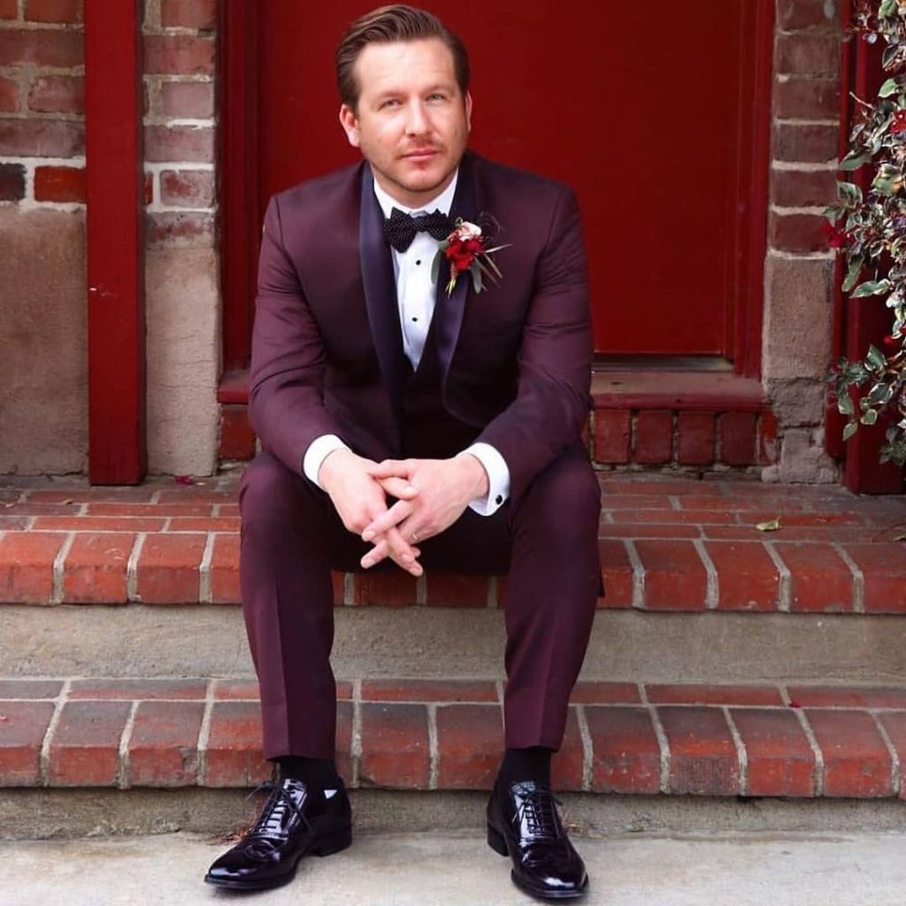 Non-Traditional Groom Attire Ideas, Alternative Color Tux or Suit forest green
