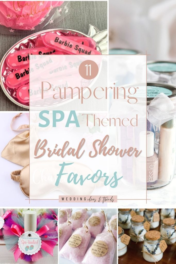 11 Pampering Spa Themed Bridal Shower Favors