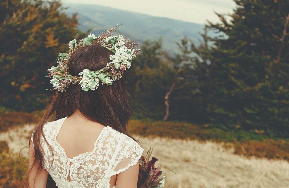 Beautiful Bridal Boho Chic Hair Accessories