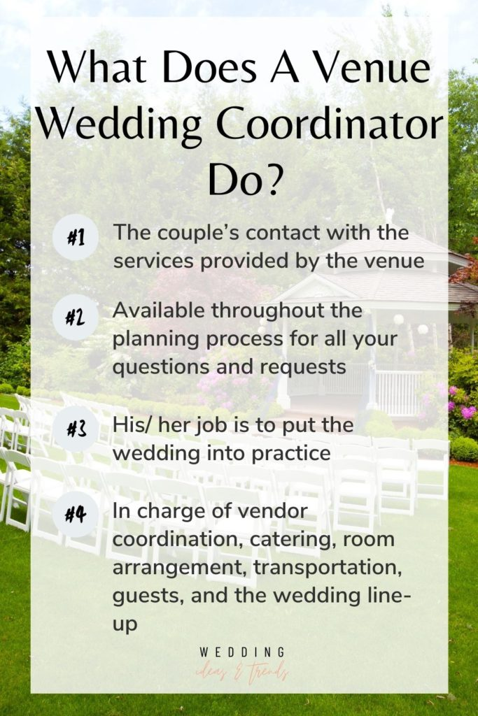 What  Does A Venue Wedding Coordinator Do?