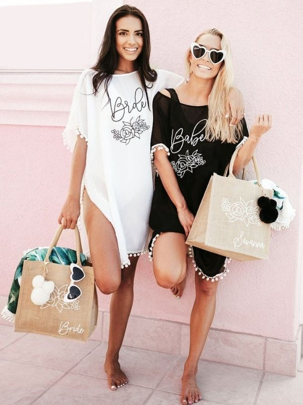 Bachelorette Pool Party Outfits And Accessories Cover-Up