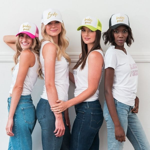 Bachelorette Pool Party Outfits And Accessories trucker hat
