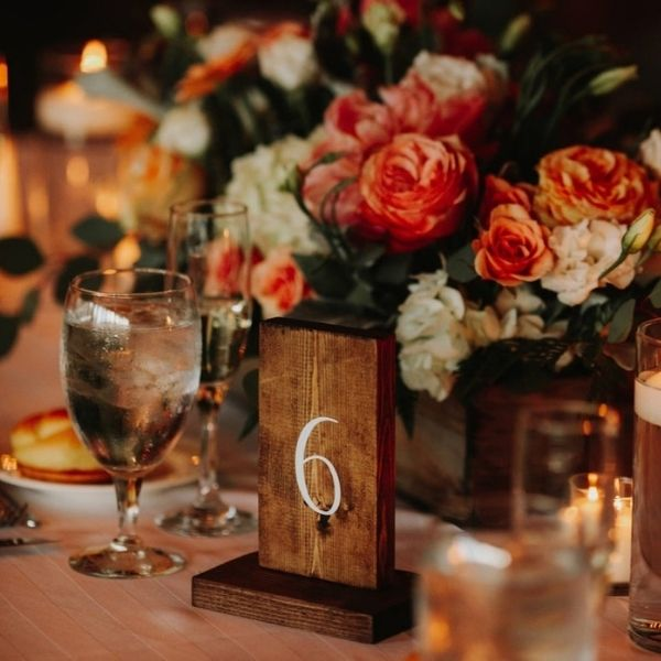 Rustic Wooden Table Numbers,modern Rustic Wooden Table Numbers - wedding ideas & trends