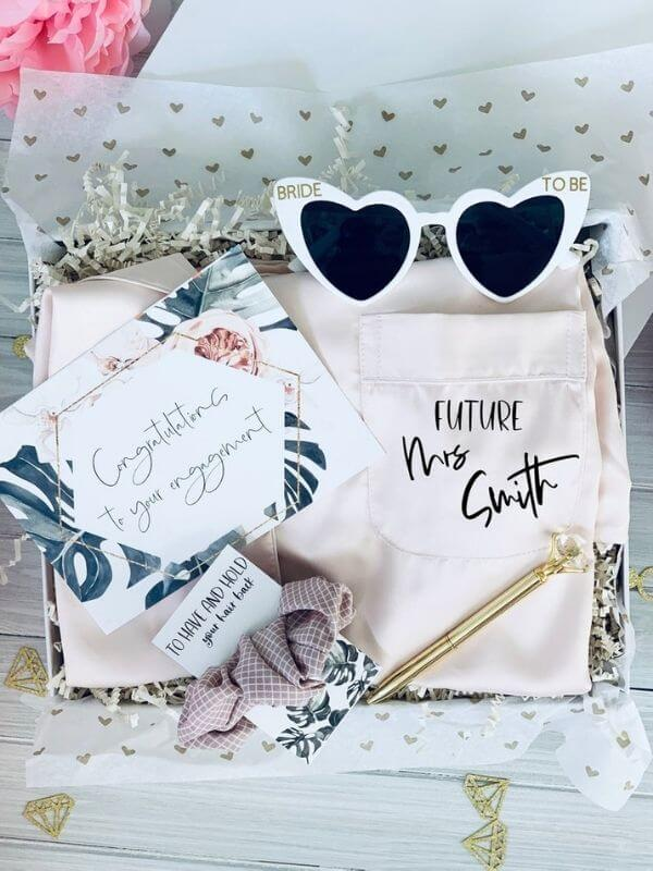 Cute Summer Engagement Gift for the bride to be