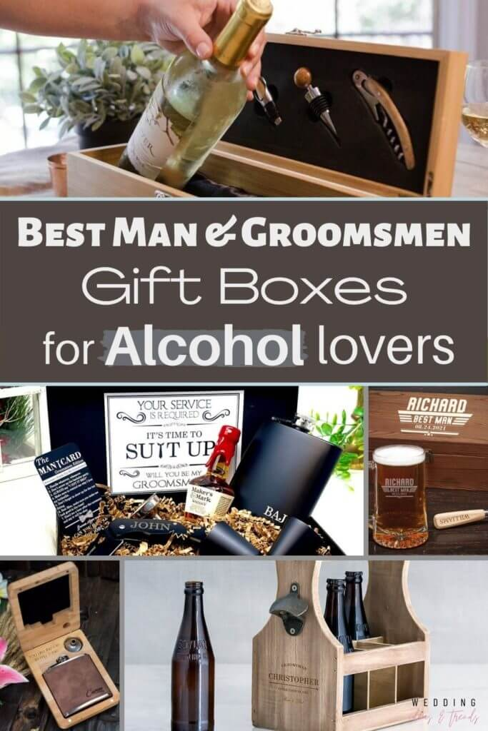 Top 13 Best Man And Groomsmen Alcohol Gift Boxes