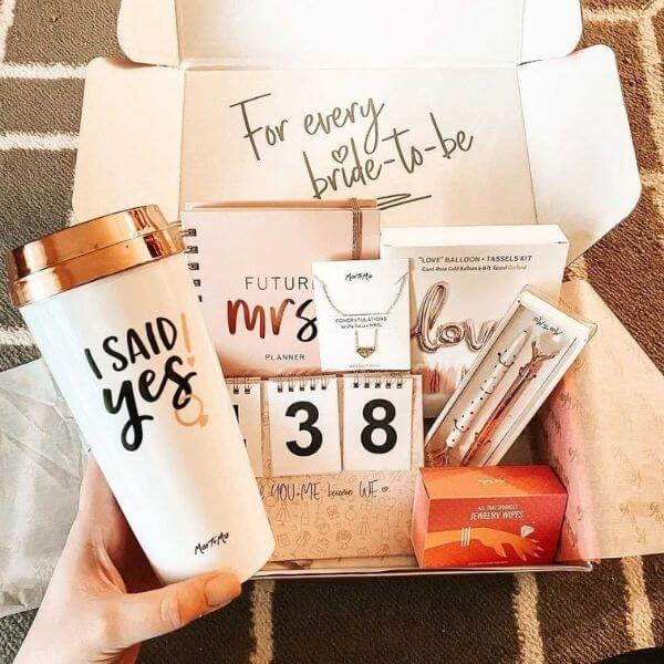 MISS TO MRS Subscription  Engagement Box