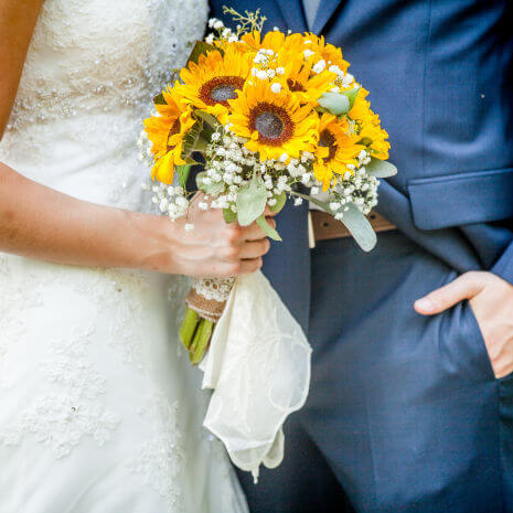 Sunflowers Country summer chic bouquets