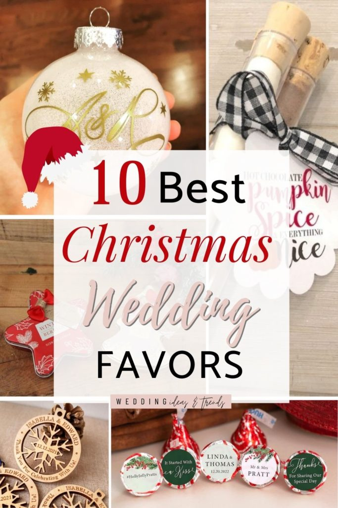 10 Best Christmas Wedding Favors - Unique and Personalized