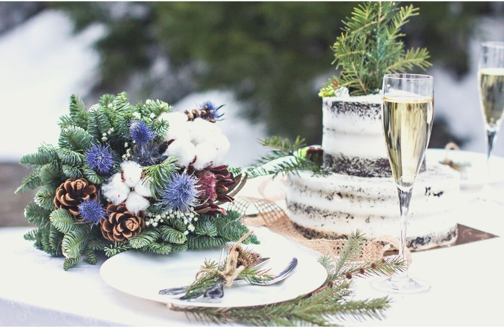 How To Plan A Small Winter Backyard Wedding On A Budget